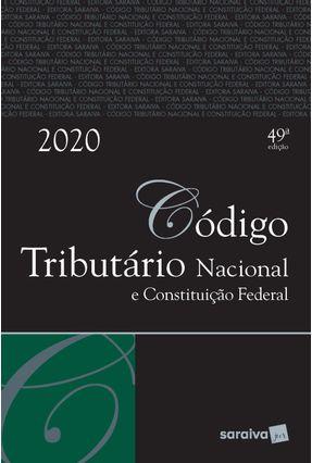 Código Tributário Nacional E Constituição Federal - Tradicional -  pdf epub