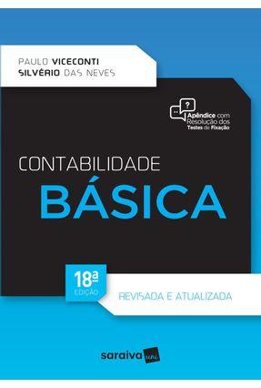 Contabilidade Básica - 18ª Ed. 2017 - Neves,Silverio das Viceconti,Paulo Eduardo V.   Hoshan.org
