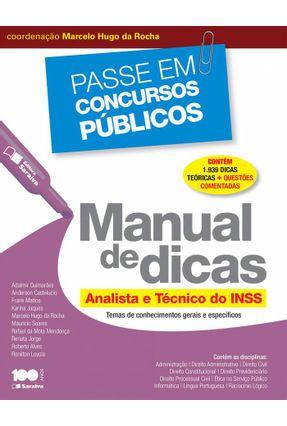 Manual de Dicas - Analista e Técnico do INSS - Col. Passe Em Concursos Públicos - Editora Saraiva   Tagrny.org