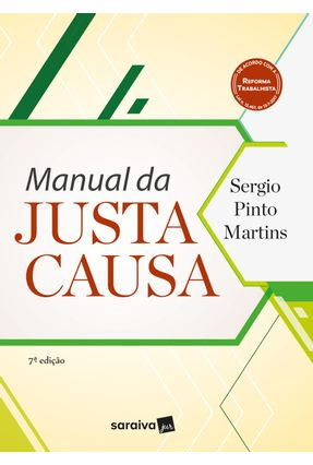 Manual Da Justa Causa - 7ª Ed. 2018 - Martins,Sergio Pinto pdf epub