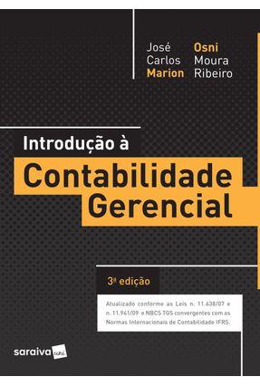 Introdução À Contabilidade Gerencial - 3ª Ed. 2017 - Ribeiro,Osni Moura | Hoshan.org