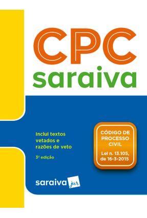 Código De Processo Civil  - Legislação Saraiva De Bolso - Editora Saraiva pdf epub