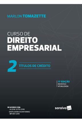 Curso De Direitos Empresarial - Vol. 2 - 11ª Ed. 2020 -  pdf epub