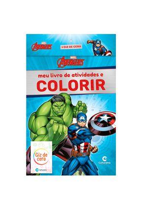 Meu Livro De Atividades E Colorir Vingadores Com Giz POP - Rodrigues,Naihobi S. pdf epub