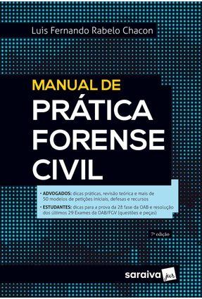 Manual De Prática Forense Civil - 7ª Ed. 2020 -  pdf epub