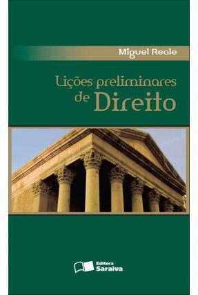 Lições Preliminares de Direito - 27ª Ed. 2002 - Reale,Miguel | Hoshan.org