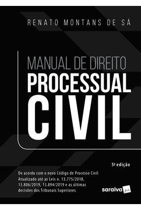 Manual De Direito Processual Civil - 5ª Edição 2020 -  pdf epub