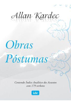 Obras Postumas - Normal - Kardec,Allan | Tagrny.org