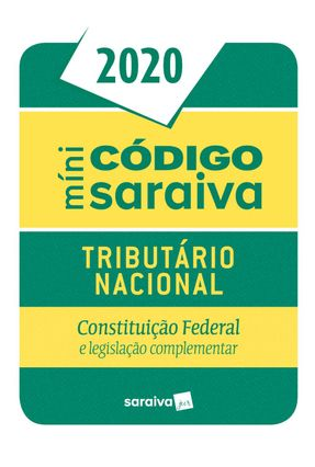 Código Tributário Mini - 26ª Edição De 2020