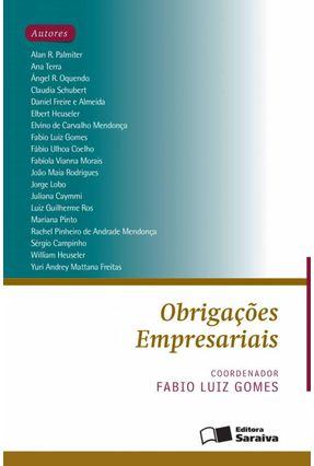 Obrigações Empresariais - Gomes,Fabio Luiz | Tagrny.org