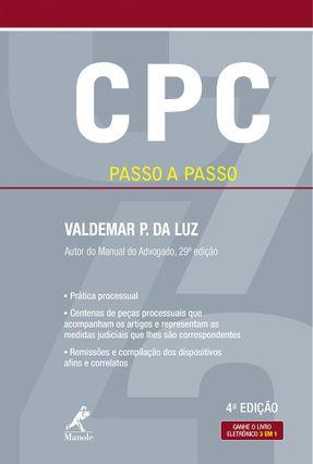 CPC Passo A Passo - 4ª Ed. 2017 - Luz,Valdemar P. Da pdf epub