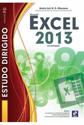 Estudo Dirigido - Microsoft Excel 2013 - Manzano,André Luiz N. G. pdf epub