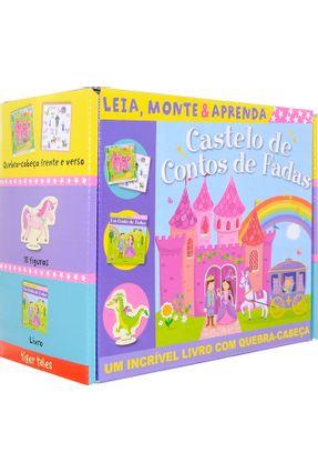 Castelo De Contos De Fadas - Leia, Monte e Aprenda - Little Tiger Press Ltd   Hoshan.org
