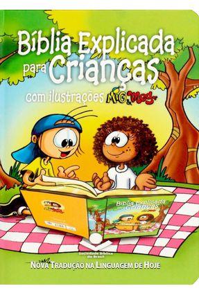 Bíblia Explicada Para Crianças Com Ilustrações Mig & Meg - Sociedade Bíblica do Brasil | Hoshan.org