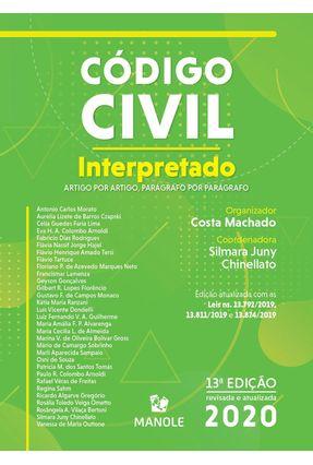 Código Civil Interpretado - Artigo Por Artigo, Parágrafo Por Parágrafo -  pdf epub