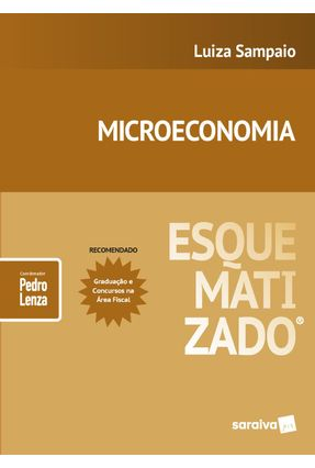 Microeconomia Esquematizado® - Luiza Sampaio ROBERTO CAPARROZ Lenza,Pedro pdf epub