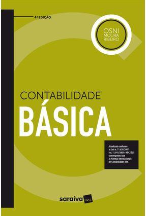 Contabilidade Básica - 4ª Ed. 2018 - OSNI MOURA RIBEIRO | Hoshan.org