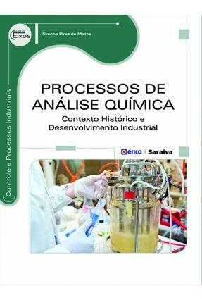 Processos de Análise Química - Série Eixos - Matos,Simone Pires de pdf epub