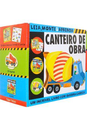 Canteiro De Obra - Leia, Monte e Aprenda - Little Tiger Press Ltd pdf epub
