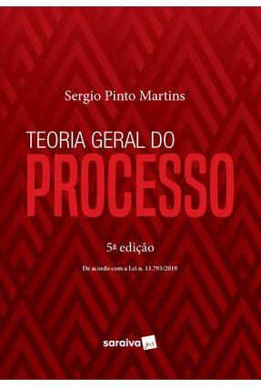 Teoria Geral do Processo - 5ª Ed. 2020 -  pdf epub