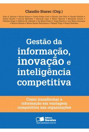 Gestão da Informação, Inovação e Inteligência Competitiva - Starec,Cláudio | Nisrs.org