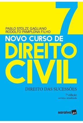 Novo Curso De Direito Civil Vol 7 - Direito Das Sucessões -7ª Ed. 2020