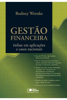 Gestão Financeira - Ênfase em Aplicações e Casos Nacionais - Wernke,Rodney pdf epub