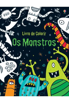 Os Monstros - Livro de Colorir - Editora Usborne pdf epub