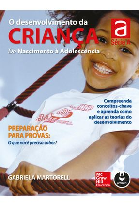 O Desenvolvimento da Criança - do Nascimento À Adolescência - Martorell,Gabriela   Hoshan.org