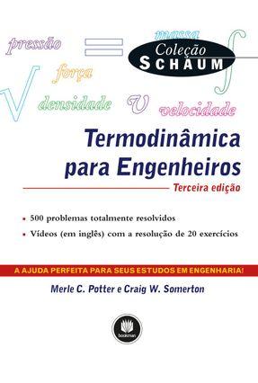 Termodinâmica Para Engenheiros - 2ª Ed. 2017 - Potter,Merle C. Kroos,Kenneth A.   Hoshan.org