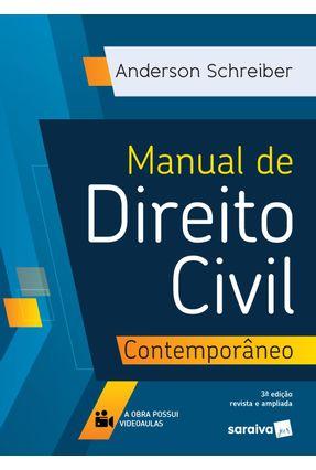 Manual De Direito Civil Contemporâneo - 3ª Ed. 2020 - Schreiber,Anderson pdf epub