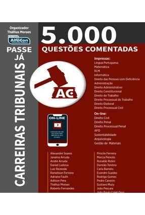 Passe Já - 5.000 Questões Comentadas - Carreiras Tribunais - Thállius Moraes pdf epub