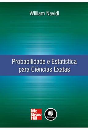Probabilidade e Estatística Para Ciências Exatas - Navidi,William   Hoshan.org