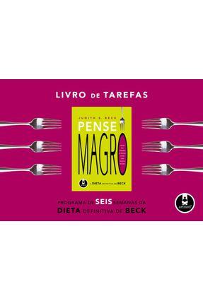 Livro de Tarefas - Pense Magro - Beck,Judith S. | Hoshan.org