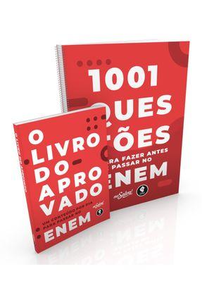 1001 Questões Para Fazer Antes De Passar No Enem + O Livro do Aprovado - Col. Me Salva - Me Salva! Cursos E Consultorias | Hoshan.org