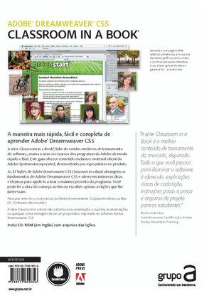 Adobe Dreamweaver CS5 Classroom In A Book - Guia De Treinamento Oficial - Adobe Creative Team | Hoshan.org