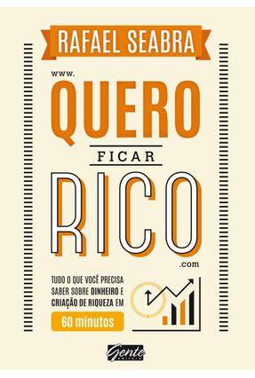 Quero Ficar Rico - Seabra ,Rafael pdf epub