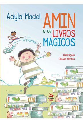 Amin e Os Livros Mágicos - Ádyla,Maciel   Hoshan.org