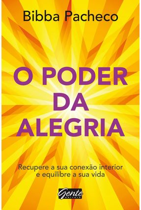 O Poder da Alegria - Pacheco ,Bibba pdf epub