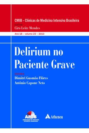 Delirium No Paciente Grave - Flôres,Dimitri Gusmão   Tagrny.org