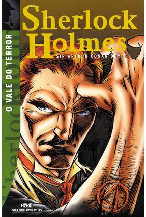 O Vale do Terror  - Sherlock Holmes - 12ª Ed. Nova Ortografia - Doyle,Arthur Conan pdf epub
