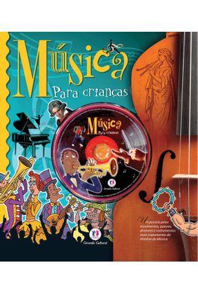 Música Para Crianças - Acompanha Cd-rom - Martínez Aceytuno,Andrés - Luis Perez Testor,Susana Arus Leita,María Eugenia | Nisrs.org