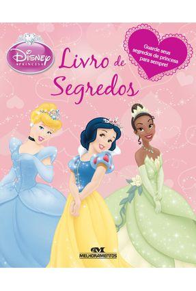 Livro De Segredos - Col. Disney Princesa - Parragon | Tagrny.org