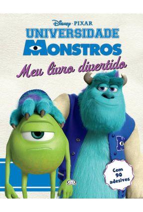 Universidade Monstros - Meu Livro Divertido - Com 90 Adesivos - Disney Chagas Maximo ,Natalia pdf epub