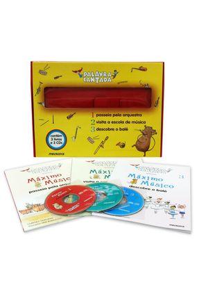 Estojo - Palavra Cantada - Máximo Música - Acompanha CD - Melbooks | Hoshan.org