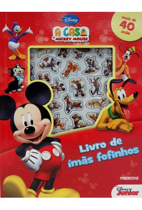 A Casa Do Mickey Mouse - Livro De Ímãs Fofinhos