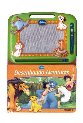 Desenhando Aventuras - Com Tela Mágica - Disney pdf epub