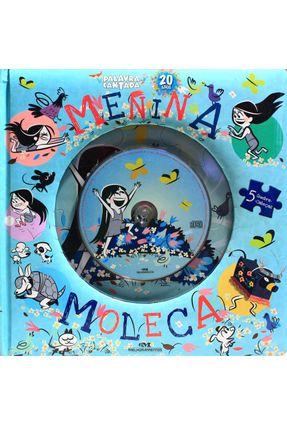Menina Moleca - Livro Quebra-Cabeça - Com CD - Cantada,Palavra pdf epub