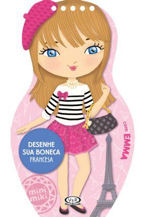 Desenhe Sua Boneca Francesa - Roberta Nacagami RAQUEL NAKASONE   Nisrs.org