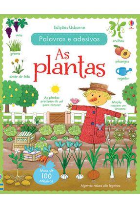 As Plantas - Palavras e Adesivos - Brooks,Felicity Caroline Young   Tagrny.org